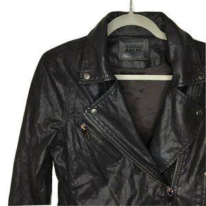 BlankNYC Asymmetrical Moto Biker Vegan Leather J